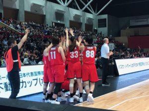 バスケットボール日本女子代表