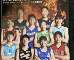 インカレ2019 バスケットボール大会プログラム