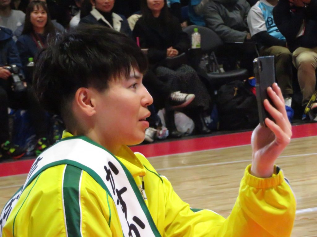 渡嘉敷来夢選手の2019-2020シーズンの成績